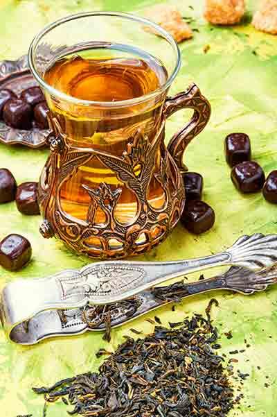 té tradicional árabe