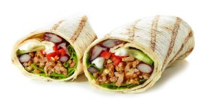 Burritos con carne picada