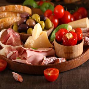 aperitivo comida italiana