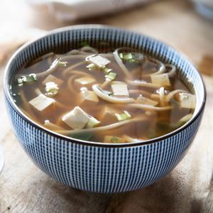 sopa de miso saludable